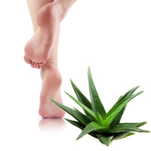 Callused feet