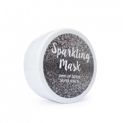 Sparkling Mask peel-off DETOX SILVER BLACK