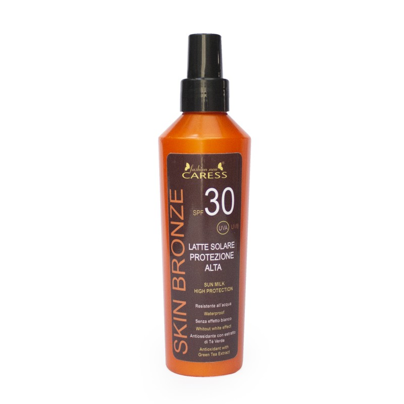 Latte solare protezione alta 30