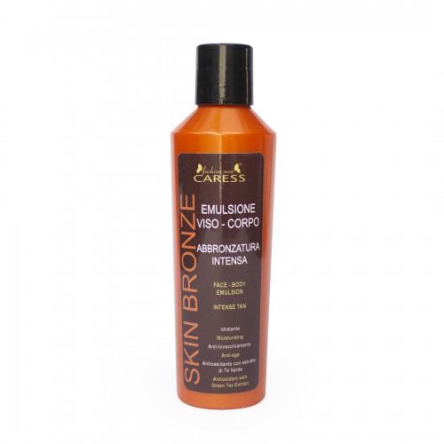 Emulsione viso - corpo abbronzatura intensa senza protezione