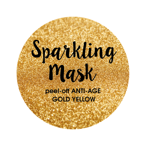 Sparkling Mask peel-off ANTI-AGE GOLD YELLOW