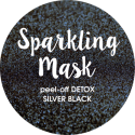 Sparkling Mask peel-off DETOX SILVER BLACK