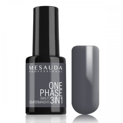 Smalto Semipermanente One Phase  n. 138  Grey Macarones